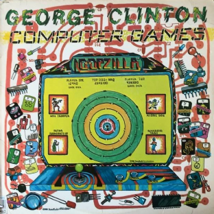 George Clinton - Computer Games (LP) (VG-/G-VG)